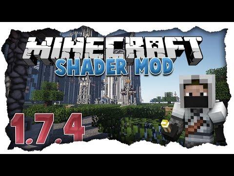 Minecraft 1.7.4 + 1.7.5 Shader Mod Tutorial [Full-HD] [Deutsch] (видео)