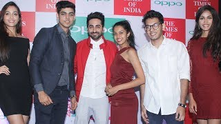 Ayushman Khurana Launches 10th Edition Of OPPO Times Fresh FaceFor More Updates:Subscribe to: https://www.youtube.com/user/movietalkiesLike us on: https://www.facebook.com/MovieTalkiesFollow us on: https://twitter.com/MovieTalkiesFollow us on: https://www.instagram.com/movietalkies/