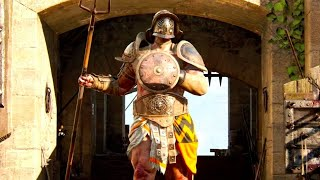 For Honor Official The Gladiator Gameplay Trailer