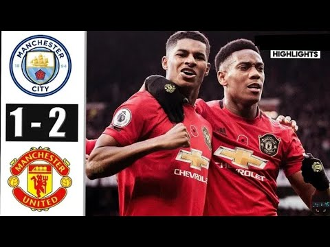 manchester city vs manchester united all goal & extemded  higlights 2019