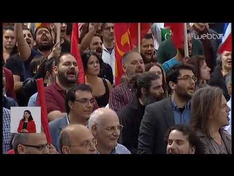 Ο Δρόμος προς την Κάλπη – ΚΚΕ: Κεντρική προεκλογική συγκέντρωση | 22/05/2019 | ΕΡΤ