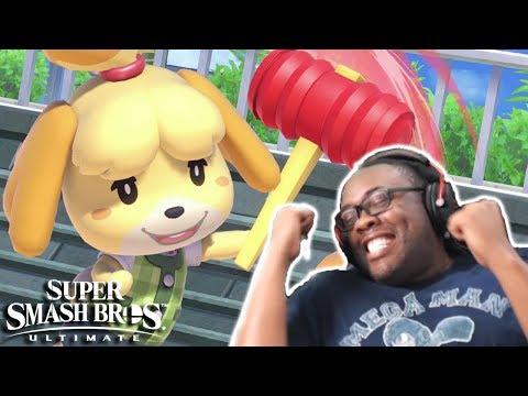 Isabelle in Smash Bros Ultimate! Luigi's Mansion 3! Nintendo Direct Take My Money! (Reaction) (видео)