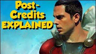 Shazam Post Credits Scene Explained