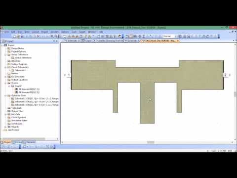 Performing an EM optimization in AWR Design Environment (Microwave Office)
