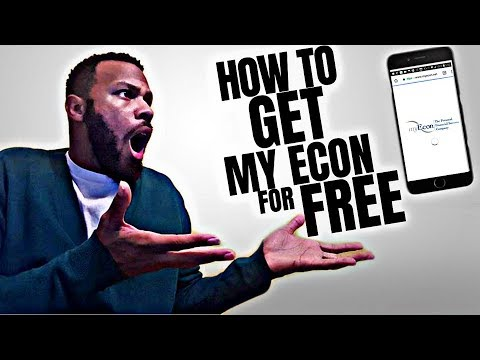 How to Get myEcon For Free