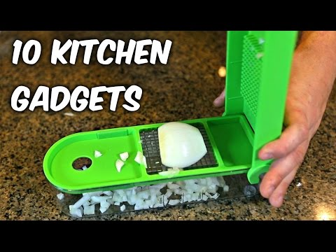 10 Kitchen Gadgets put to the Test Part 4 (видео)