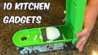 Video 10 Kitchen Gadgets put to the Test Part 4 MP3, 3GP, MP4, WEBM, AVI, FLV Januari 2018