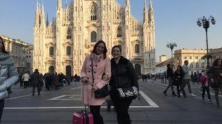 Shopping in Milan with my Sister... Sephora, MAC and more :)