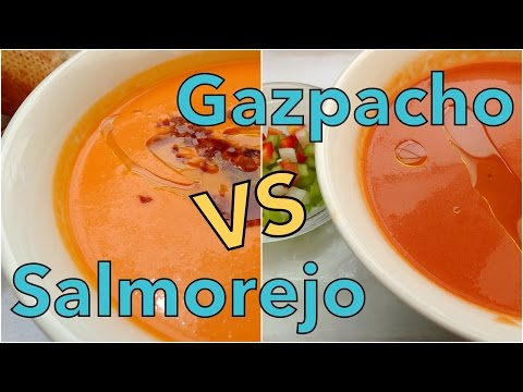 VIDEO: Gazpacho Spanish Soup in Madrid