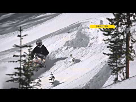 SKI - To learn more and to build a Summit or Freeride: http://www.ski-doo.com You want deeper pow and more challenging lines. We create sleds to carve and hold wha...