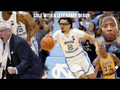 COLE ANTHONY LEGENDARY PERFORMANCE!! HOMAGE TO KAREEM ABDUL JABBAR?? POTENTIAL #1 PICK???!