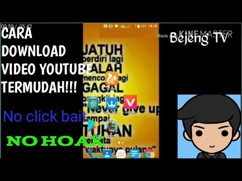 Heboh!!! Cara Gampang Mendownload Video Youtube Film Dll, Dengan 1 Aplikasi ( NO ROOT NO HOAX ).