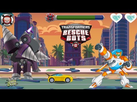 Transformers Rescue Bots: Disaster Dash Hero Run #223 | Bumblebee: Legendary Autobot Scout!