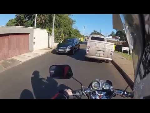 #18 Dia a dia de moto em Lençóis Paulista... (Honda Titan KSi 150cc do Marquinho)