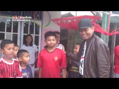 Walikota Pekanbaru Meninjau Banjir di Jalan A.Yani, Jalan Durian, Jalan Suka Karya Tampan