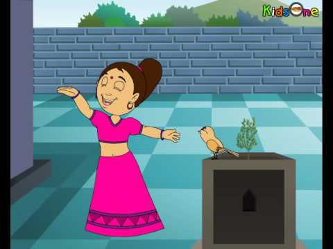 Chidiya - Hindi Animated Rhymes With High Quality.