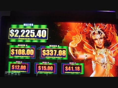 Dancing in Rio NEW SLOT MACHINE + PROGRESSIVE WIN Bonus Round Free Games