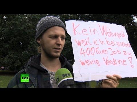 Жители Германии: на наши зарплаты нельзя
