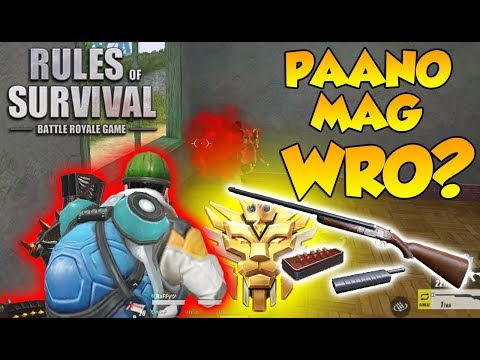 PAANO MAG WRO? | (Rules Of Survival: Battle Royale #28)