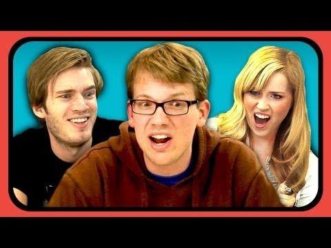 YouTubers React to Don't Hug Me I'm Scared