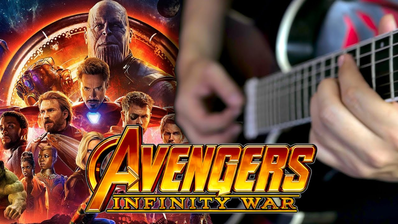 Avengers: Infinity War Theme Songs Guitar Medley (Music Soundtrack Medley)