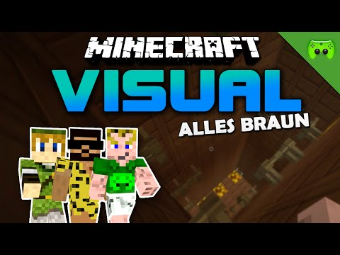 MINECRAFT Adventure Map # 52 - Visual Project 2 «» Let's Play Minecraft Together | HD