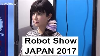 Video Robot Exhibition - JAPAN Show 2017 MP3, 3GP, MP4, WEBM, AVI, FLV Juli 2018