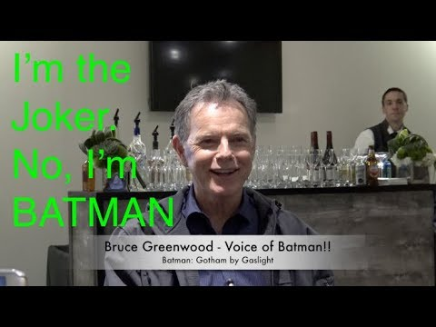 Bruce Greenwood Voice of Batman Talks Games, Gotham by Gaslight and more!