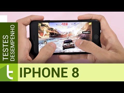 Desempenho do Apple iPhone 8  Teste de velocidade oficial do TudoCelular