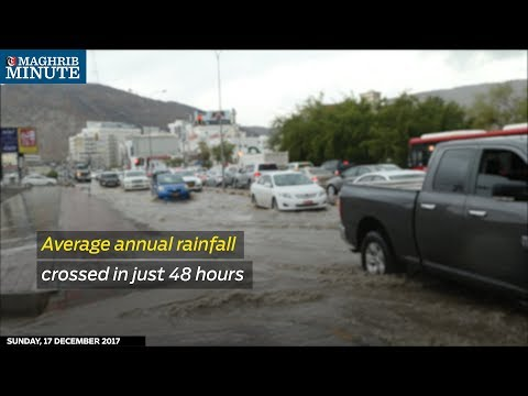 Average annual rainfall crossed in just 48 hours