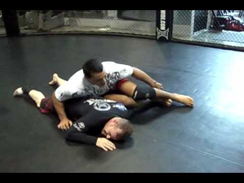Omoplata: Attack from Z mount with Vinny Magalhaes