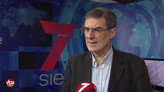 Agustín Ruiz Robledo, catedrático de Derecho Constitucional de la UGR, explica las claves de la 'crisis de los símbolos' en Cataluña