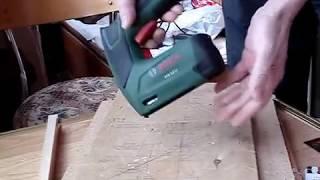 Bosch PTK 3.6 0603968120 - 10мм фанера и мебельный оргалит