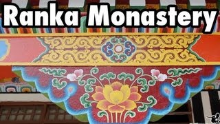 Ganktok India  city pictures gallery : Ranka Monastery and Sikkimese Food near Gangtok, India