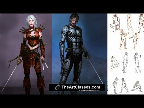 idrawgirls - For more information on drawing male and female body go to: Female proportion and scale: http://idrawgirls.com/tutorials/2011/10/25/how-to-draw-woman-body-ba...