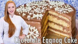 Holiday Eggnog Cake by Tatyana's Everyday Food