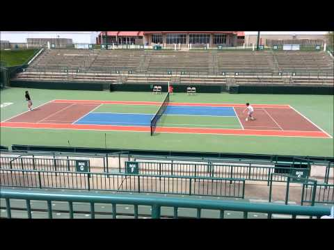 World Team Tennis court at Springfield, MO (Revel and Danny)