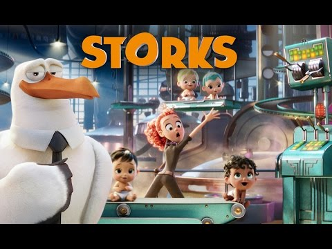 Storks Trailer About the Storks That Used to Deliver Human