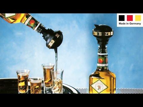 Schnaps einschenken - Profi Spirituosen-Dosierer 2cl - Ausgießer für Flaschen (dispenser) ENGOLIT