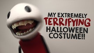 DON'T LOOK AT ME!!! O.o - TheMeatly's 2017 Halloween Costume!