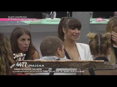 ZADRUGA – NOMINACIJE: Nominovani su Miljana i Mika