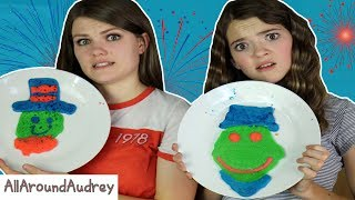 Hey guys! In today's video my sister JustJordan33 and I will be doing the 4th of July Pancake Art Challenge! In this cooking challenge, we have to make pancakes to the theme of Independence Day! This was super fun but also pretty hard. Enjoy!__Subscribe for videos every Thursday!☆http://www.youtube.com/channel/UCS0kA-D1M87dDfkWRl_DLJA?sub_confirmation=1Comment down below who you thought did the best each round!♡Like this video if you enjoyed!Here are some more videos I think you might like:Operation Slime Challenge: https://www.youtube.com/watch?v=FycQVuqxORwCoke and Mentos Challenge: https://www.youtube.com/watch?v=ZZD0C2Fu-vsLip Retractor Challenge: https://www.youtube.com/watch?v=IXKf89bTx_EFast Food Fondue Challenge: https://www.youtube.com/watch?v=oUgfiExrN4URainbow Ice Bath Challenge: https://www.youtube.com/watch?v=sM8tujZbsLUNever Have I Ever: https://www.youtube.com/watch?v=n340lu1BIpYTwisted Twister:  https://www.youtube.com/watch?v=XzR_twNyxSEHungry Hungry Hippos Game Twist: https://www.youtube.com/watch?v=Z0kuKpzfh0YFamily Lip Retractor Challenge: https://www.youtube.com/watch?v=y_ridJVmS8EYou can send fanmail! AllAroundAudreyP.O. Box 6792N. Logan, Utah 84341__Follow Me On:Instagram- https://instagram.com/allaroundaudrey/Twitter- https://twitter.com/AllAroundAudreyFacebook- https://www.facebook.com/AllAroundAudrey?ref=profilePinterest- https://www.pinterest.com/allaroundaudrey/Musical.ly- AllAroundAudreyYouNow: AllAroundAudrey__♡ My Sister's Channel: https://www.youtube.com/channel/UCHOMvu3axPhTG5zLqrHynig♡ My Brothers' Channel: https://www.youtube.com/channel/UCCHmMn-aFceiyb81Z-fu-zw♡ Our Family Channel: https://www.youtube.com/channel/UCbZgDzTkBQMkPWYBFESJ3sQ♡ Check Out My Previous Video: https://www.youtube.com/watch?v=ZIgQumO6Owc♡ For Business Inquiries: AllAroundAudrey99@gmail.com__Music Credits:Ask Rufus by Audionautix is licensed under a Creative Commons Attribution license (https://creativecommons.org/licenses/by/4.0/)Artist: http://audionautix.com/__Thanks for Watching!XOXO,Audrey