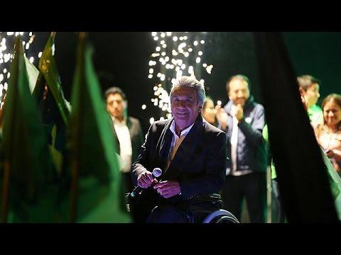 Ο αριστερός Λένιν Μορένο προηγείται στις προεδρικές εκλογές του Ισημερινού