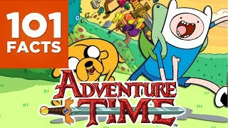 Finn and Jake have been smashing their way through some prety awesome adventures in the post-apocalyptic world of Ooo. But how much do you really know about the marvel that is Adventure Time? Well if you want to know 101 things you've come to the right place. Subscribe to 101 Facts Here: http://bit.ly/1MtNBJDFollow 101 Facts on Twitter: https://twitter.com/101Facts1