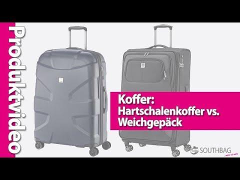 Koffer: Die Gepäckart - Weichgepäck vs. Hartschalenkoffer