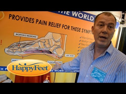 Happy Feet Massaging Foot Insoles
