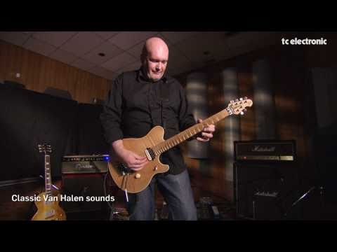 Classic Van Halen sounds on a TC Electronic Nova System by Russel Gray