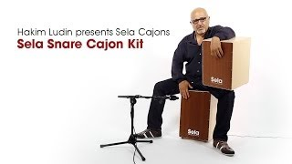 Hakim Ludin plays 2 Cajon Kits Videos 1