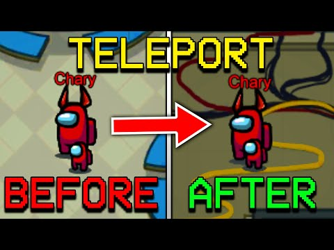 HOW TO TELEPORT AS IMPOSTER IN AMONG US! HOW TO TELEPORT IN AMONG US 2020