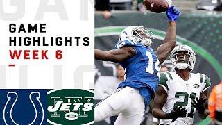 Colts vs. Jets Week 6 Highlights   NFL 2018